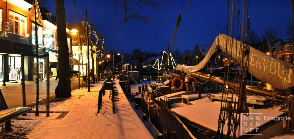 winter Diepswal Wierumer Aak Dokkum (7 dec '12)